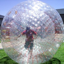 wholesale grass zorbing,cheap inflatable zorb ball