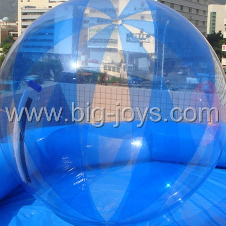 walk on water ball with swimming pool