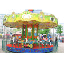 Popular sale carousel;amusement kiddie carousel