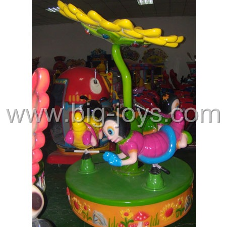3 Seats Bee Rides;coin operated horse rides;fun rides