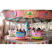 Rotating Lotus Cup,24 Seats Coffee Cup Rides