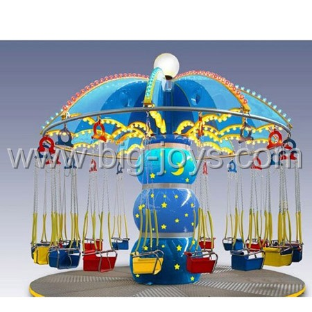 16 Seats Flying Chair,flying chair with light and music, mini flying chair