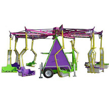 Portable Swing Rides,Mobile Swing Rides,Swing rides with Trailer