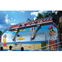 crazy wave rides,Amusement park miami ride