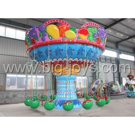 water-melon flying chair rides,amusement rides fruit flying chair,flying swinger