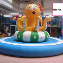 Electric Octopus,Indoor playground whirling octopus