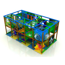 indoor playground tunnel slide,customized indoor playground