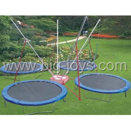 4 persons Bungee Trampoline with trailer