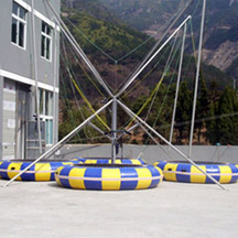 4-in-1 inflatable Bungee Trampoline