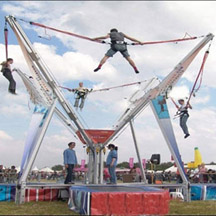 Europe 4 person bungee trampoline