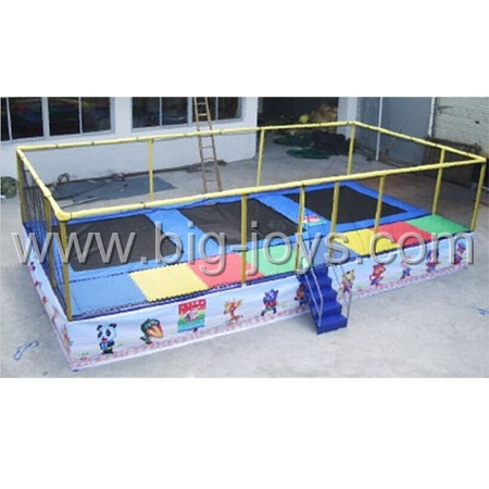 3-in-1 trampoline bed