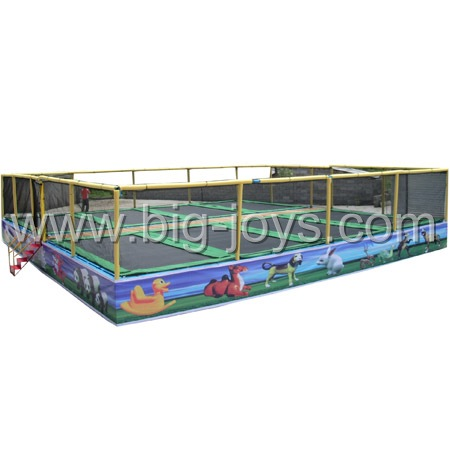 8 in 1 Jumping Trampoline
