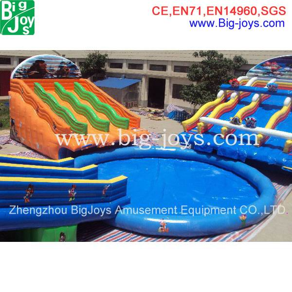 Adult Size Inflatable Water Park