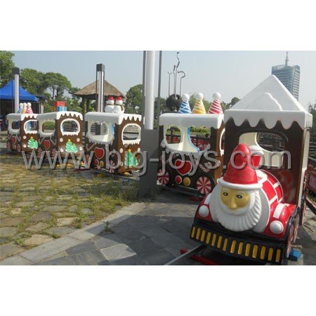 kids christmas mini train,electric track train for children