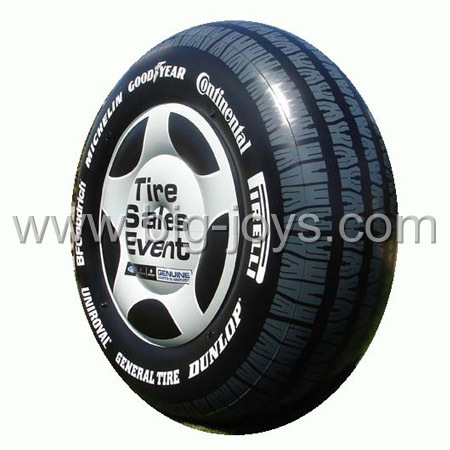 inflatable tire,large inflatable tire