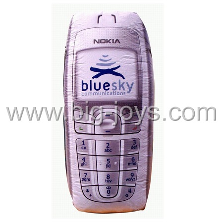inflatable nokia cellphone