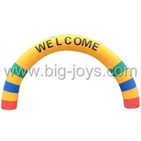inflatable welcome arch