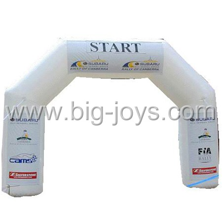 inflatable start arch