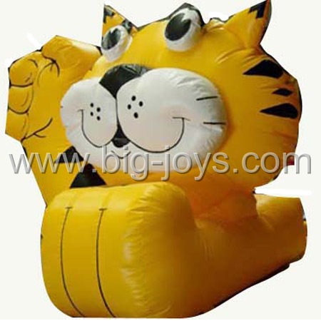 inflatable advertising tiger